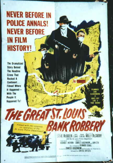 The Great St. Louis Bank Robbery movie