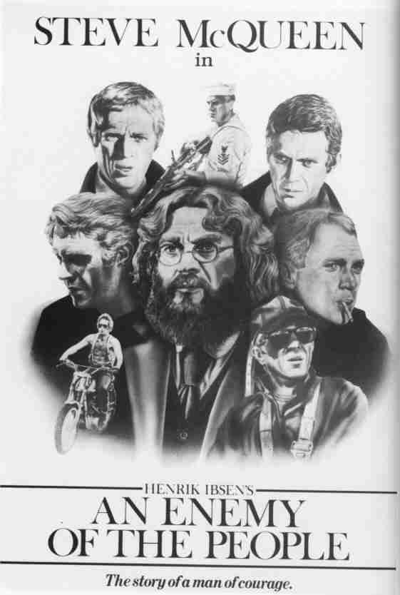 The Steve McQueen Film Poster Site